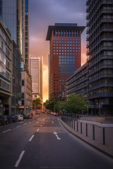 Japantower (thorsten_fr) Tags: street city frankfurt deutschebank commerzbank japantower