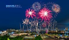 NDP 2016 Fireworks #1 - 9th July 2016 (Samuel.Dai) Tags: tourism skyline nikon fireworks parade fisheye ndp 15mm hdr touristattraction d800 nationalday singaporeriver nationalstadium 2016 lowlightphotography longexposurephotography cityscapephotography singaporeindependence samueldai