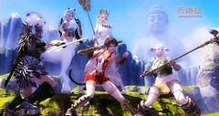 flickr123- Saiyuki ( Journey to Go West) (yakochi) Tags: china west cosplay go journey secondlife saiyuki songoku sanzou houshi chohakkai sagojo gyokuryu
