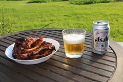 (toyohara) Tags: home beer japan asahi ribs superdry 2016