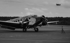 Tante Ju at Egelsbach Airport (Saibot7791) Tags: canon eos is  aircraft aunt ag flugzeug ju 70200 tante ef f4 prop airliner avion 52 hlice junkers propellermaschine flugzeugwerk 760d ju52rundflugde