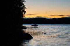 Approaching the Harbour (@Tuomo) Tags: finland korpilahti kärkinen päijänne lake summer sunset shadows night nikon df nikkor 70200mm4 vr