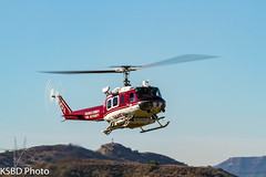 OC Fire Authority/USDA Forest Service FEPP UH-1H 66-01127 (KSBD Photo) Tags: oc fire authorityusda forest service fepp uh1h 6601127 american heros airshow