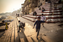 Run freely (Dio Wong) Tags:  diowong dio diophoto     india travelphoto travelphotography photography color streetphotography colorful canon travel charactersketch   varanasi