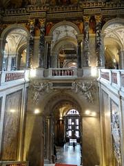 Kunsthistorisches Museum, Vienna (Sheepdog Rex) Tags: staircases kunsthistorischesmuseum vienna