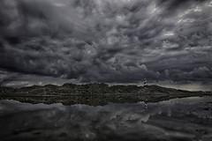 Cós des Síndic reflections III (www.ibarik.com) Tags: lighthouse nature reflections landscape island mediterranean mediterraneo menorca cloudsstormssunsetssunrises