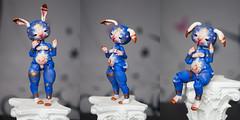 月の兎 (Koala Krash) Tags: blue moon rabbit ball french doll artist koala bjd chaman krash jointed fenouil chimères tendres