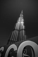 Burj Khalifah, Pointing to the Heavens. April 10th 2015 (Bader Alotaby) Tags: travel art skyline architecture skyscraper amazing nikon dubai famous uae landmark icon structure bader gcc burj 18200mm khalifah supertall d7100