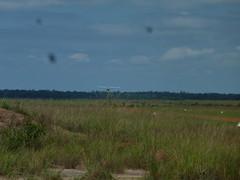 Plane Landing in Karanambu