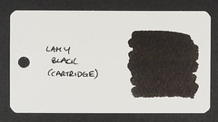 Lamy Black - Word Card