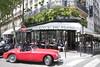 Cafe de Flore (lesleycc53) Tags: paris cafedeflore redsportscar