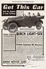 1918 Birch Light-Six (aldenjewell) Tags: light ad birch six 1918