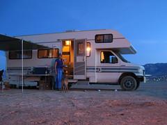camping lake roc desert dry 1993 mojave rv motorhome jamboree searcher modelrockets classc lucernedrylake rocketryorganizationofcalifornia
