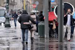 Flickar in Torino () Tags: street friends portrait rain umbrella torino photography photo flickr foto photographer photos group tram meeting human fotografia raining amici turin pioggia ritratto stefano ombrello fotografo gruppo incontro raduno 2015 trucco fermata binario21 zush stefanotrucco
