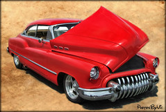 Hot Rod Buick (Photos By Vic) Tags: red classic car vintage buick automobile antique hotrod vehicle custom carshow generalmotors
