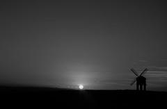 Chesterton Windmill (Matt Battison) Tags: sunset blackandwhite windmill blackwhite nikon leamington chesterton warwickshire leamingtonspa chestertonwindmill d5300 nikond5300