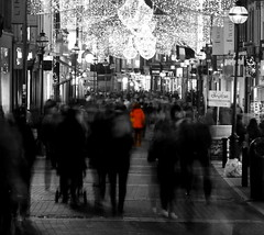 A Lost Soul (Clutter And Camera) Tags: longexposure ireland dublin monochrome canon lonelyplanet canondslr nationalgeographic artisticphotography colorhighlight longexposurephotography canon600d canont3i
