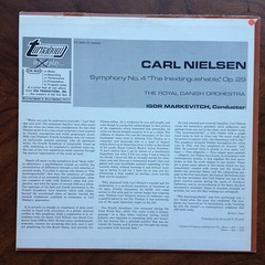 "Backside Carl Nielsen - Symphony No.4 ""The Inextinguishable"" op.29 - Royal Danish Orch., Igor Markevitch, Turnabout Vox TV 34050S (Piano Piano!) Tags: musician artwork album vinyl collection record sleeve hoes 12inch vynil hulle igormarkevitch gramophonerecordplattediscvinyllplangspeelplaatklassiekclassicalclassique grammofoonlangspielplatte carlnielsensymphonyno4theinextinguishableop29royaldanishorch turnaboutvoxtv34050s recordalbumdisclpvinylvynil12inch coverarthoeshulle12inch discdisquerecordalbumlplangspeelplaatgramophoneschallplattevynilvinyl"