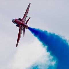 BAe Hawk T1 - 1 (NickJ 1972) Tags: hawk aviation airshow bae redarrows t1 2014 britishaerospace sywell