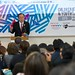 UN Secretary-General Mr. Ban Ki-moon joins the Children and Youth Forum of the Third United Nations World Conference on Disaster Risk Reduction in Sendai