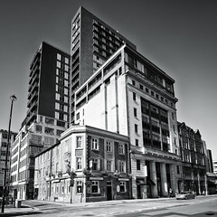 The Unicorn (JEFF CARR IMAGES) Tags: blackandwhite buildings cityscapes northwestengland
