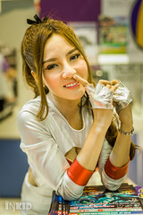 DSC06554 (inkid) Tags: show light portrait girl lady female zeiss lens t asian 50mm model women pretty dof natural bokeh bangkok f14 sony indoor carl ambient motor za planar a900 sal50f14z motorshow2015 mts2015
