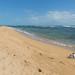 Praia com corais