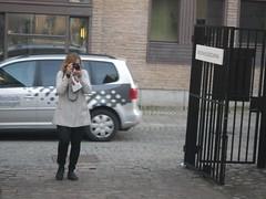 The photographer (rotabaga) Tags: portrait gteborg pentax sweden gothenburg sverige optiow90