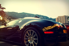 Bugatti Veyron (Afrobandit252) Tags: sunset car rich engine royal ferrari casino monaco exotic bugatti supercar gallardo veyron f40 lamborgini hypercar aventador
