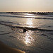 Sunset waves at Gordon Beach (Tel Aviv, Israel)