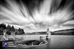 Pontsticill Reservoir (Electric Lemonade Photography) Tags: park sky white mountain lake black water clouds long exposure fuji hole sink hill railway reservoir national plug merthyrtydfil pontsticill penyfan tafftrail corndu weldingglass xt1 valvetower marksimpson fanybig dolygaer taffechan bellmouthspillway alltforgan electriclemonadephotography