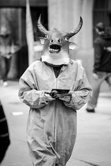090/365: Moo (haslo) Tags: street switzerland cow milk costume swiss candid protest olympus bern dressed omd em1 project365 100x2015 115in2015