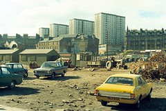 Wellgate (Dundee City Archives) Tags: old olddundeephotos dundee photos wellgate demolition 1970s ford rla642l cortinaxl jts174g briggs