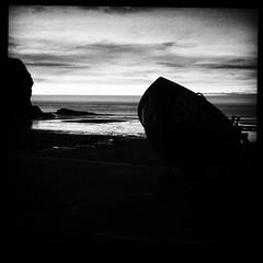 Machlud Traeth / Llangrannog Sunset (FfotoMarc) Tags: square squareformat inkwell cymraeg llangrannog iphoneography instagramapp