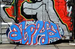 graffiti amsterdam (wojofoto) Tags: holland amsterdam graffiti nederland netherland alpha ndsm wolfgangjosten wojofoto