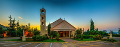 Our Lady Of Lebanon Church, Mulbarton Johannesburg (Paul Saad (( ON/OFF ))) Tags: our sunset sky panorama lebanon sun church lady sunrise southafrica catholic pano panoramic hdr maronite ourladyoflebanon notredameduliban jouhannesburg ladyoflebanonchurch mulbartonjohannesburg