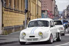 Renault Dauphine Gordini (Alexandre Prvot) Tags: auto france cars car sport automobile european parking transport automotive voiture route exotic nancy lorraine 54 supercar luxe berline exotics supercars ges 54000 dplacement meurtheetmoselle worldcars grandestsupercars
