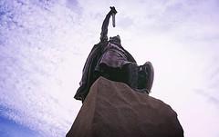 lfred of Wessex (SteveJM2009) Tags: uk sculpture statue bronze king helmet may hampshire sword granite shield alfred winchester plinth stevemaskell 2016 alfredthegreat 1899 hants hamothornycroft lfred