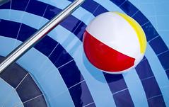 Summer Fun (yafit770) Tags: blue red summer sun water pool yellow swim ball cool sunday challengeyouwinner
