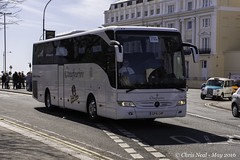 Chauffeurhire Coaches 'Eleanor Rigby' CH15CHP 01.05.2016 (CNThings) Tags: chris sussex mercedes coach brighton yha youthhostel eleanorrigby tourismo chauffeurhire chauffeurhirecoaches cnthings ch15chp