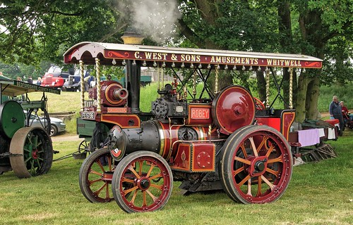 UK, Woolpit Steam Rally, Robey,  C.West & Sons, HDR
