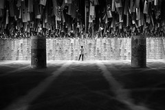 Symmetry. La Biennale di Venezia 2016 Introduction. (Q-BEE) Tags: venice blackandwhite art exhibition symmetry arcitecture biennale venezia labiennale labiennaledivenezia labiennale2016