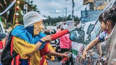 Payaso en misa del nio (Franklin Iza) Tags: del de los fiestas el carnaval payaso nio tingo misa espuma chillos alangas valle