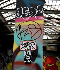 graffiti breukelen (wojofoto) Tags: holland graffiti stickers nederland breukelen hi5 wojo wolfgangjosten wojofoto