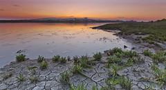Cracked earth (Through Bri`s Lens) Tags: sussex riverbank hightide shorehambysea tollbridge lancingcollege riveradur brianspicer lee09softgrad canon5dmk3 canon1635f4