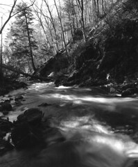 Gatineau Park (jgeoffdodd) Tags: park film nature river quebec gatineau ilford neutraldensityfilter