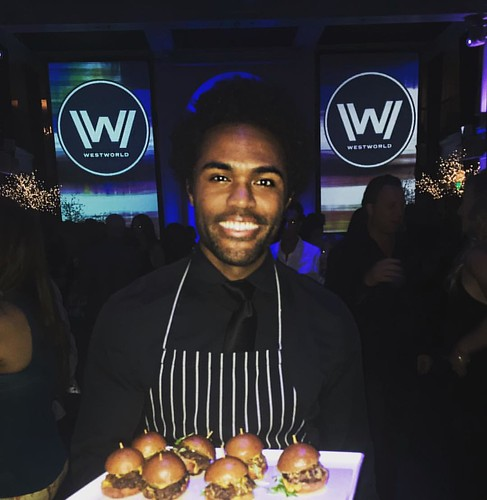 Excited for the #HBO new series #Westworld! Great event last night w/ @thefoodmatters #staffing #events #eventlife #servers #thefoodmatters #hollywood #girlboss #fyc #200ProofLA #200Proof