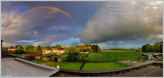 Rainbow (PPL1960) Tags: sky cloud weather landscape rainbow ciel nuage arcenciel pfmay16