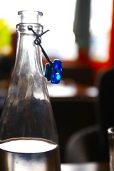 Rainbow (opal c) Tags: glass rainbow waterbottle