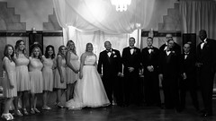02469161-76-Mike and Lindsey Wedding-41-Black and white (Jim There's things half in shadow and in light) Tags: wedding portrait blackandwhite love michael paige april lindsey hurley canon5dmarkiii canonef50mmf18stmlens